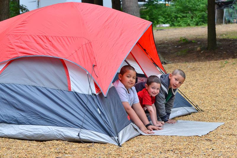 Campsites - Pine Acres Family Camping Resort